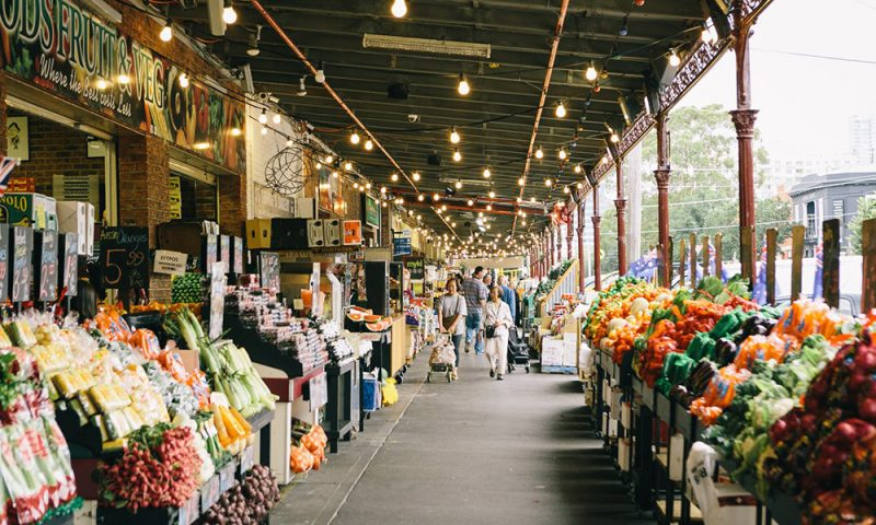 Melbourne, exploration of outdoor markets