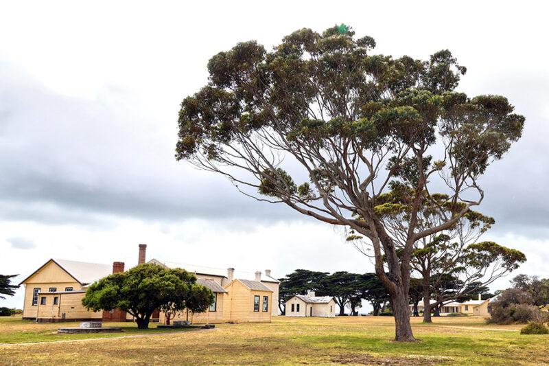 Portsea quarantine station bleak isolated landscape
