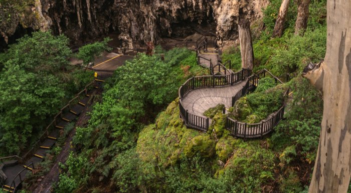 Lake Cave entrance, Australia