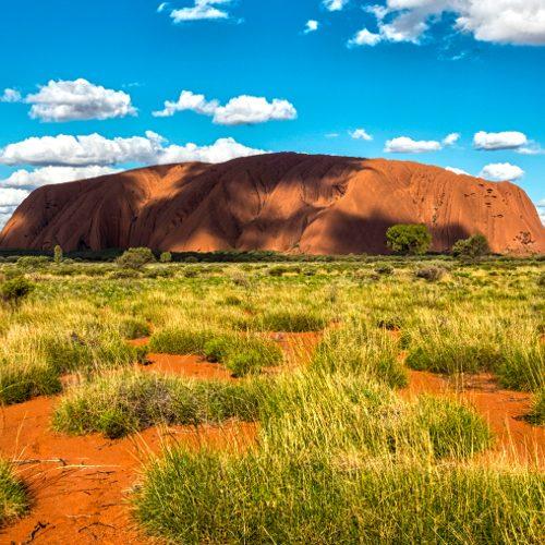 Uluru early morning, The Northern Territory, Australia