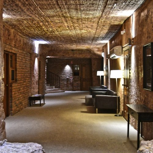 Underground hotel, Coober Pedy, Australia