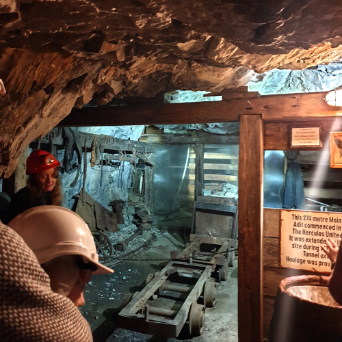 Walhalla gold mine tour, Australia