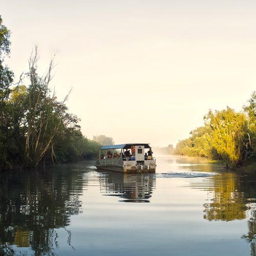 Yellow Waters sunset cruise, Australia