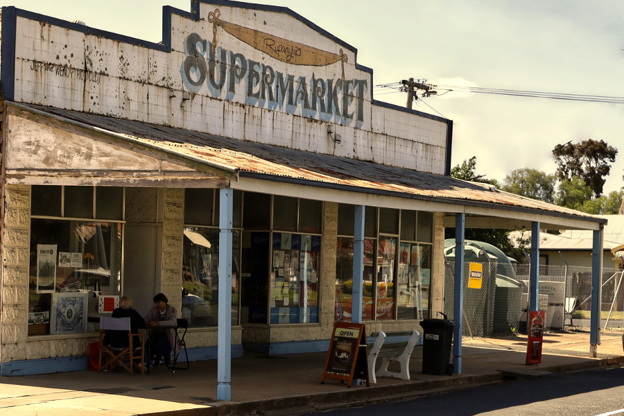 Rupanyup surviving general store, Australia