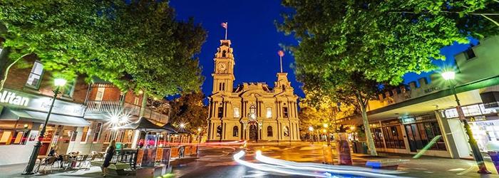 Bendigo Town Hall, Australia @explorebendigo