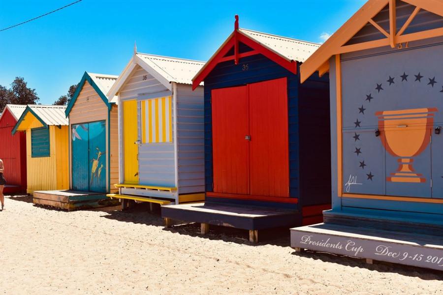 Bathing Boxes, Melbourne, Australia