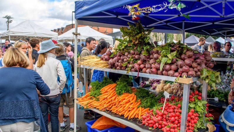 Evandale Sunday Markets, Australia @Examiner