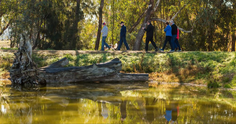 Marrambidya Wetlands, Australia @Visit Wagga