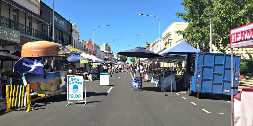 Maryborough Heritage City Market, Australia @TravelNotes