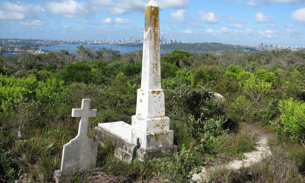 Third Quarantine Cemetery, Australia @In Memoriam myopixia