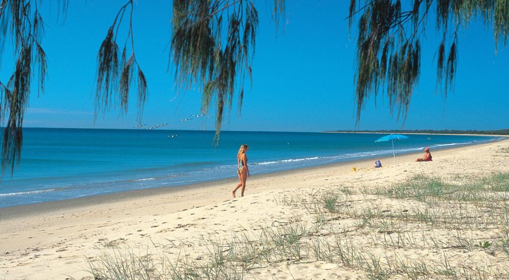 Woodgate Beach Park and Playground, Queensland, Australia @Queensland