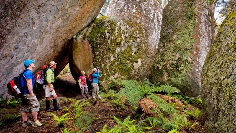 Mushroom Rocks,Australia @Visit Victoria