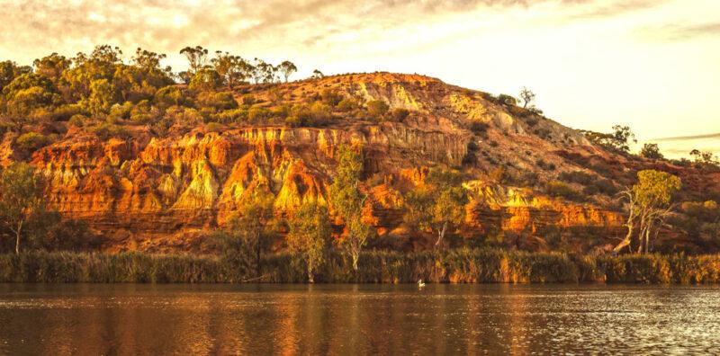 Headland Cliffs sunset view,Australia