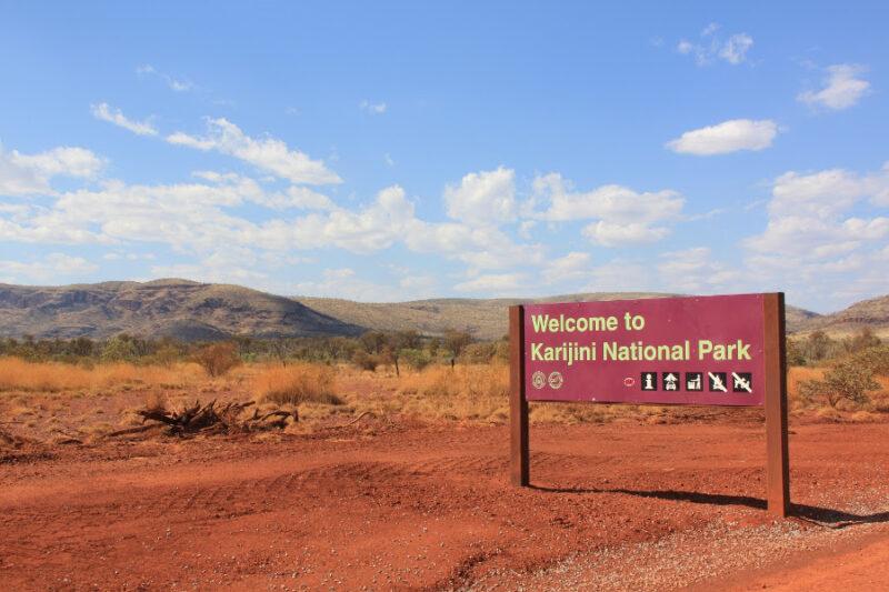 Karijini National Park road,Australia @W. Szymborska