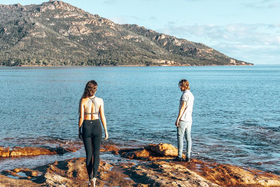 Richardson beach walk,Australia @Lap of Tasmania