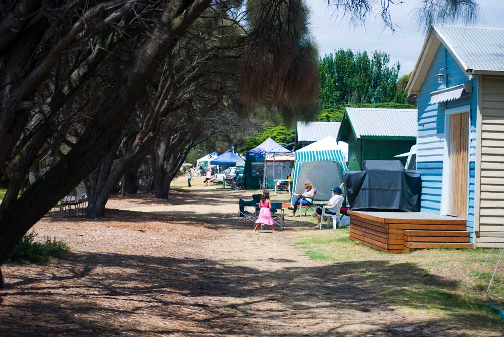 Rye Foreshore Camping @mornpen