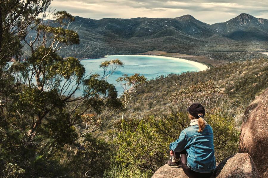 Wineglass Bay, Freycinet National Park,Australia