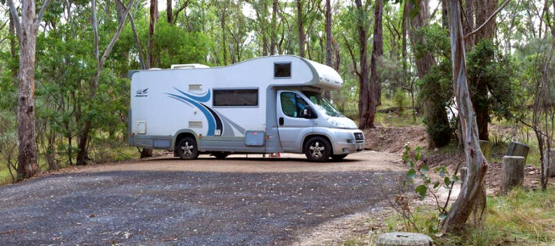 Wollomombi campground,Australia @Rob Cleary