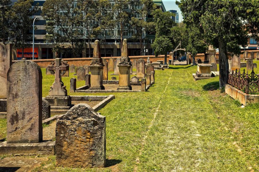 St John's Cemetery Sydney,Australia